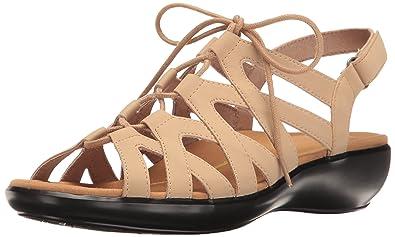 Sandals Rockport Rozelle Gladiator Taupe