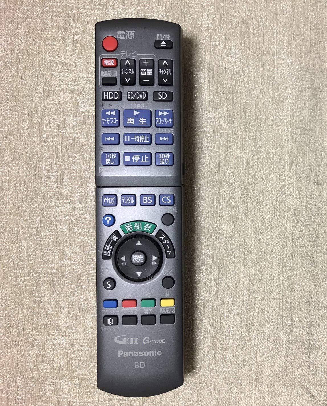 Panasonic ブルーレイディスクレコーダー用リモコン N2QAYB000346 product image