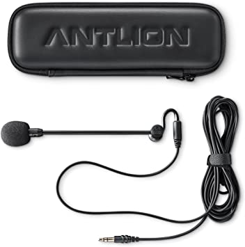 Amazon Com Antlion Audio Modmic Attachable Boom Microphone Noise Cancelling Without Mute Switch Electronics