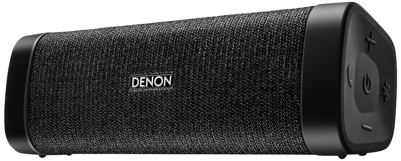 DENON ポータブルワイヤレススピーカー Envaya Mini Bluetooth®対応 IPX7 防水/IP6X 防塵  aptX対応 ブラック DSB-150BT-BK  ブラック B0777MXFZQ