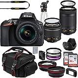 Nikon D5600 DX-Format DSLR Two Lens Import Kit with AF-P DX NIKKOR 18-55mm f/3.5-5.6G VR & AF-P DX NIKKOR 70-300mm f/4.5-6.3G
