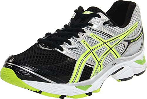 asics wide fit mens shoes yellow