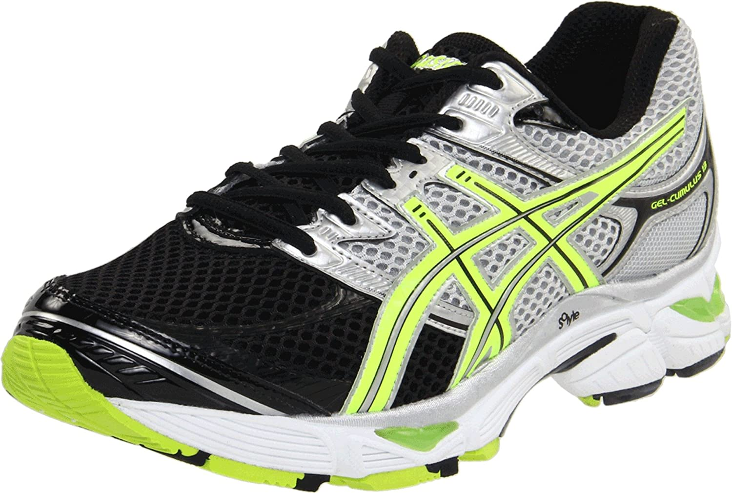 Amazon.com | ASICS Men's GEL-Cumulus 13 Running Shoe, Lightning/Neon  Yellow/Black, 6 M US | Road Running