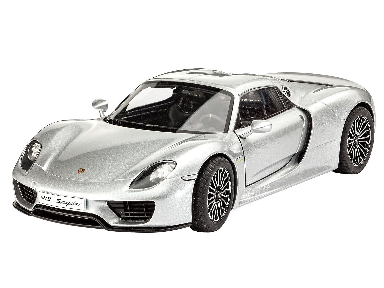 Level 4 Revell Modellbausatz Auto 1:24 originalgetreue Nachbildung mit vielen Details Porsche 918 Weissach Sport im Ma/ßstab 1:24 07027