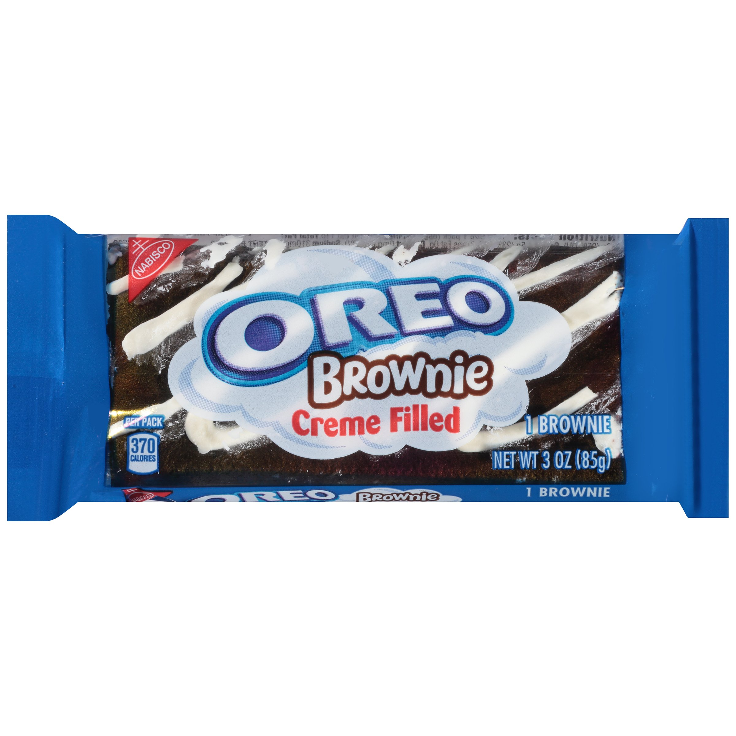 Oreo Brownie, Crème Filled, 3 Ounce Package, 12 Pack by Oreo