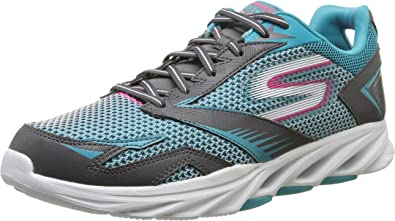 Skechers Go Run Vortex - Zapatillas Running para Mujer, Color Gris (Charcoal/Bleu), Talla 36: Amazon.es: Zapatos y complementos