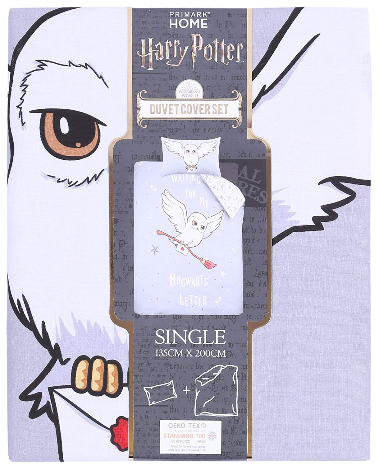 Ropa de Cama Blanca y Gris 135x200 Harry Potter: Amazon.es ...