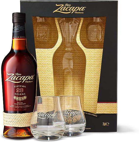 Ron Zacapa Ron Zacapa Centenario 23 Sistema Solera Gran Reserva Limited Edition Design 40% Vol. 0,7L In Giftbox With 2 Glasses - 700 ml