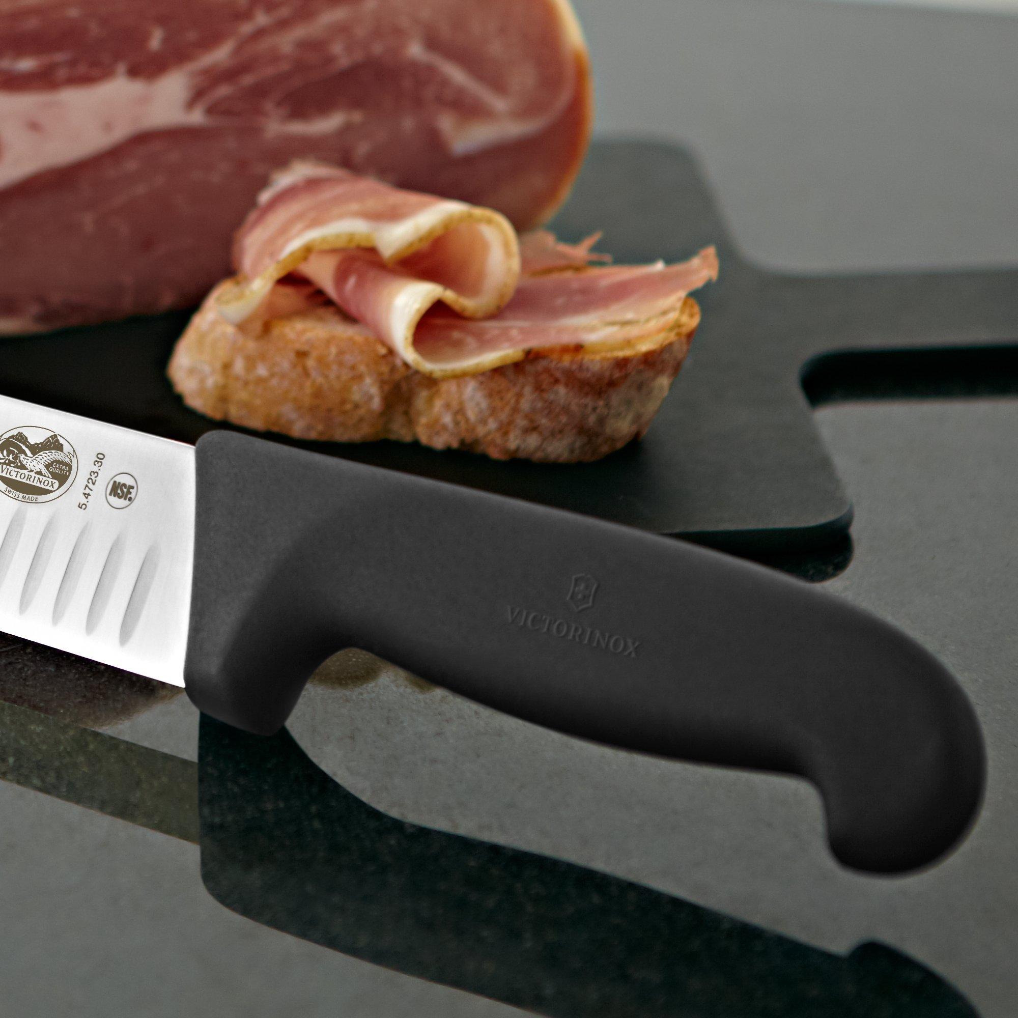 Victorinox 12 Inch Fibrox Pro Slicing Knife with Granton Blade by Victorinox (Image #4)