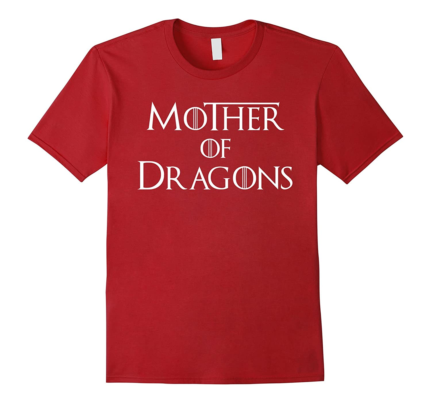 Mens Mother Dragons T Shirt Black-Tovacu