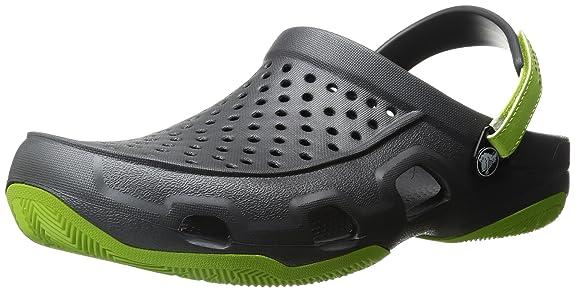 7 opinioni per Crocs Swiftwater Deck Clog M Gpt/Vgr, Zoccoli Uomo