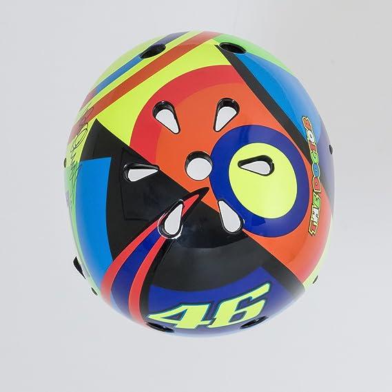 KIDDIMOTO Casco de Ciclismo Edition Valentino Rossi: Amazon.es: Juguetes y juegos