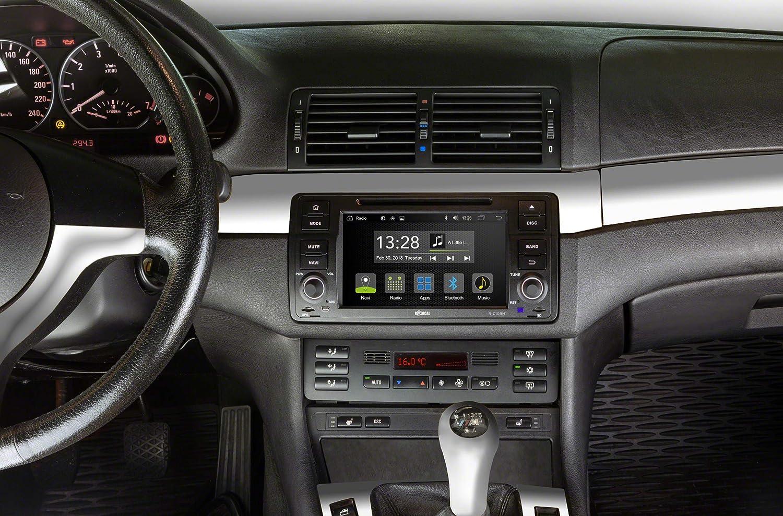RADICAL R-C10BM1 Infotainment Android T8 Kompatibel mit BMW E46