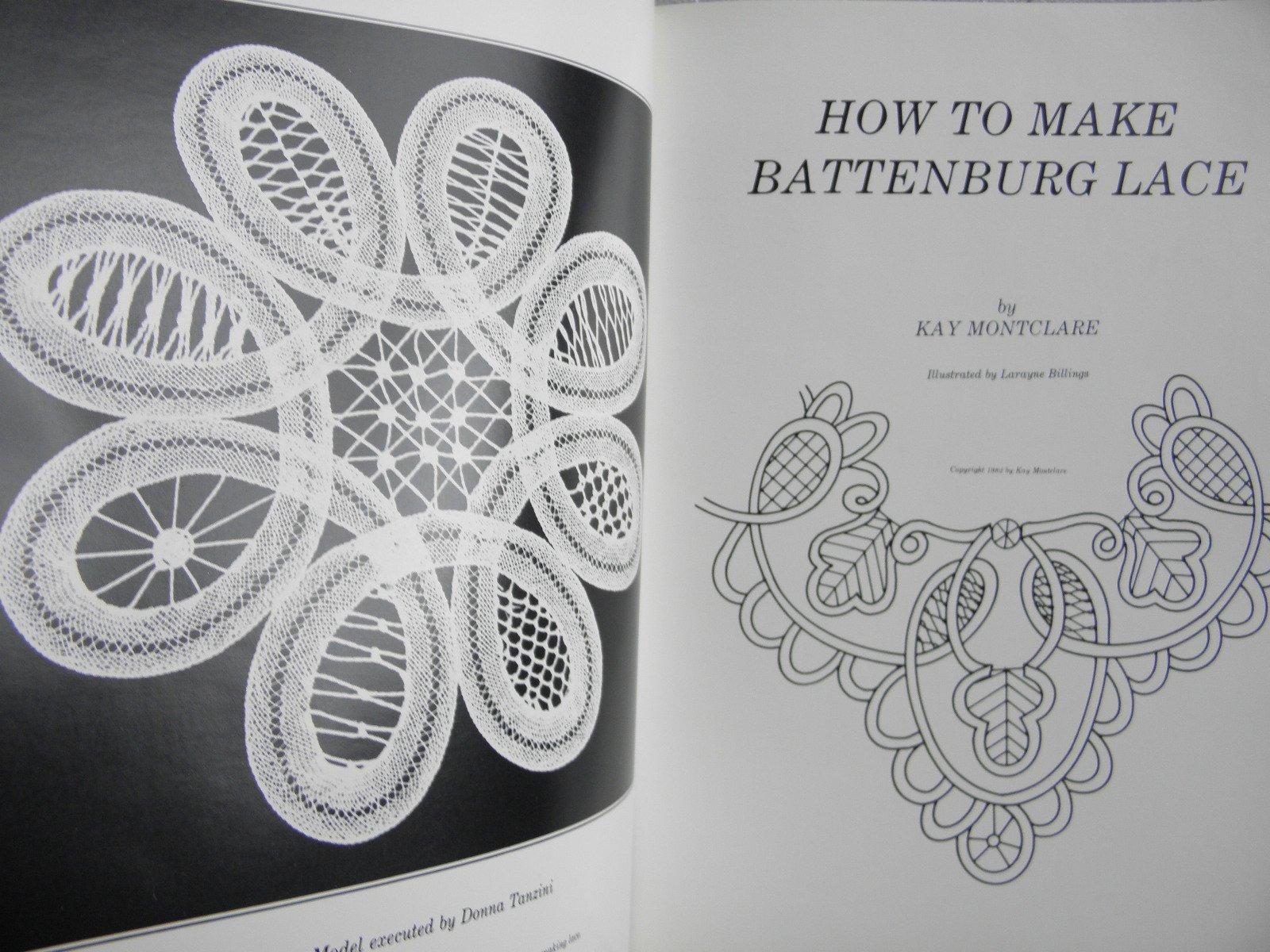 how to make battenburg lace kay montclare amazon com books