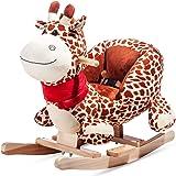vidaXL Baby Schaukeltier Schaukelpferd Dinosaurier Schaukel Spielzeug Kinder Schaukelspielzeug