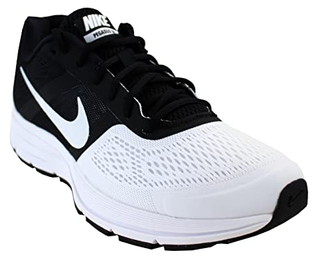 c225cd060d1f2 Amazon.com: Nike Air Pegasus+ 30 Mens Style: (12, White/Black): Clothing