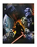 Star Wars Back to School Supplies and Accessories - Folders, Pencils and Pencil Pouch - 16 Item Stationary Bundle
