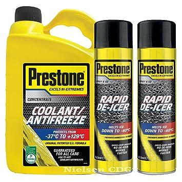 Prestone Líquido Concentrado anticongelante refrigerante 4L + ...