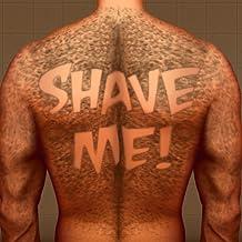 Hairy Back Shaving : The Tattoo Man Bear Hair Razor Shave