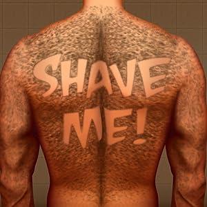 Hairy Back Shaving : el hombre del tatuaje cabello oso razor ...