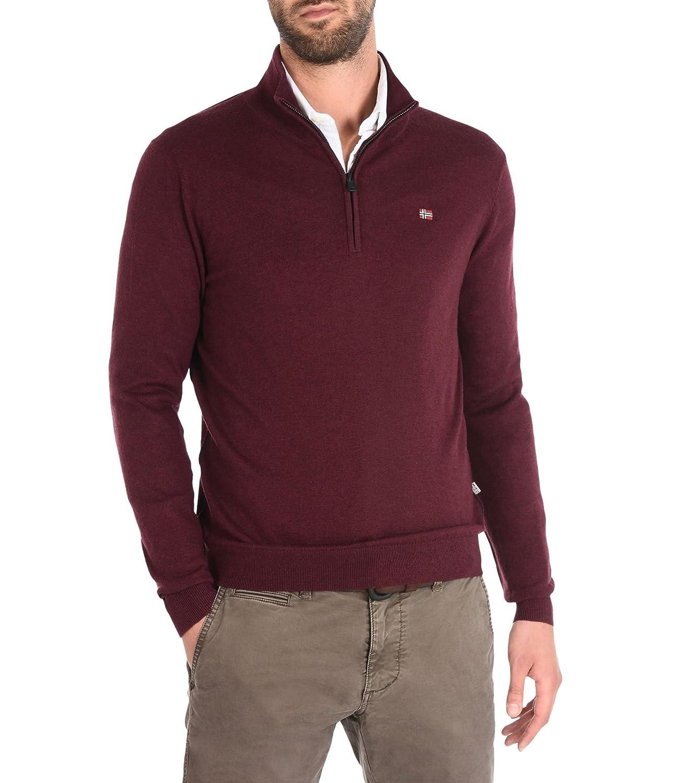 NAPAPIJRI man sweater half zip N0YGOZ197 DAMAVAND HALF GRIGIO SCURO MainApps