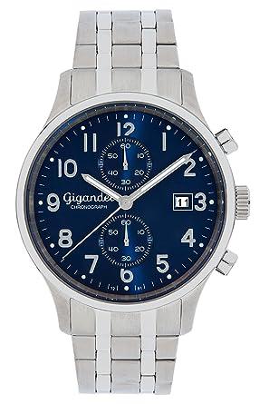 Uhr Quarz 004 Herren Gigandet Mit Armband Analog Edelstahl G49 0vNymnwO8