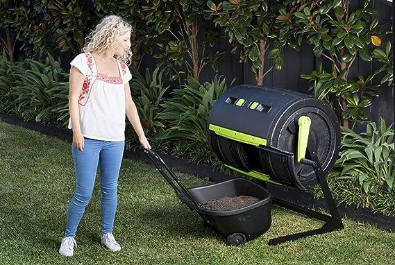RSI MCT-MC - Vaso para Compost de Dos etapas, Color Negro ...