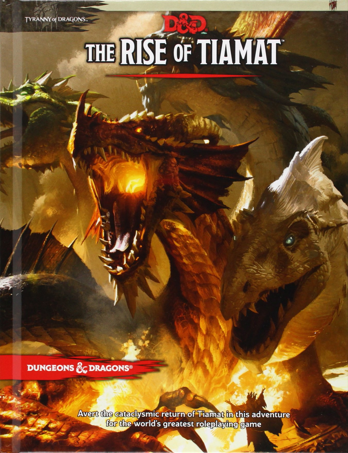 The rise of tiamat dd adventure wizards rpg team the rise of tiamat dd adventure wizards rpg team 8601410707941 amazon books fandeluxe Gallery