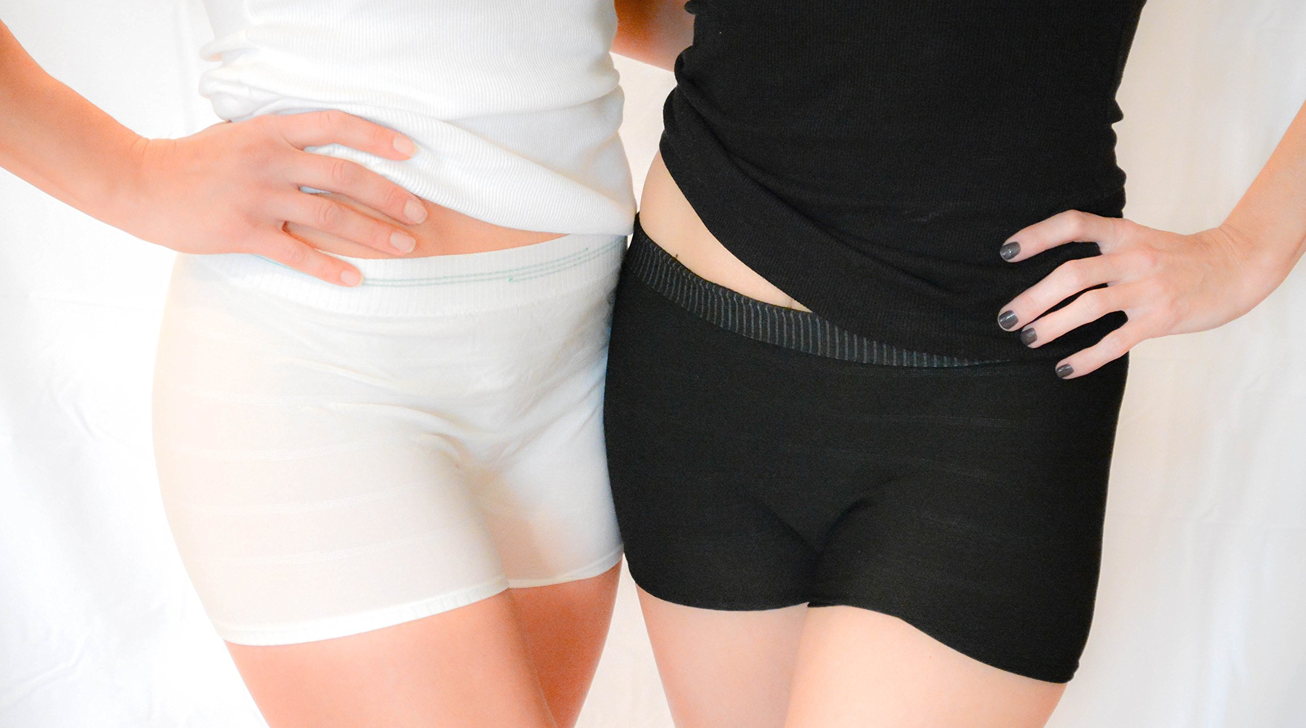 Brief Transitions Seamless Mesh Postpartum, Post Surgical, Disposable Underwear & C-Section Recovery Women's Panties