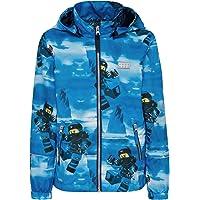 LEGO Wear Kids & Baby NINJAGO® Waterproof & Windproof Snow/Ski Jacket with Chin Guard Protector and Reflective Detail