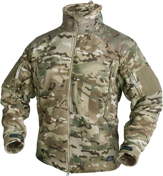 Helikon Tex Liberty Heavy Fleece Jacket Camogrom Outdoor Jacke
