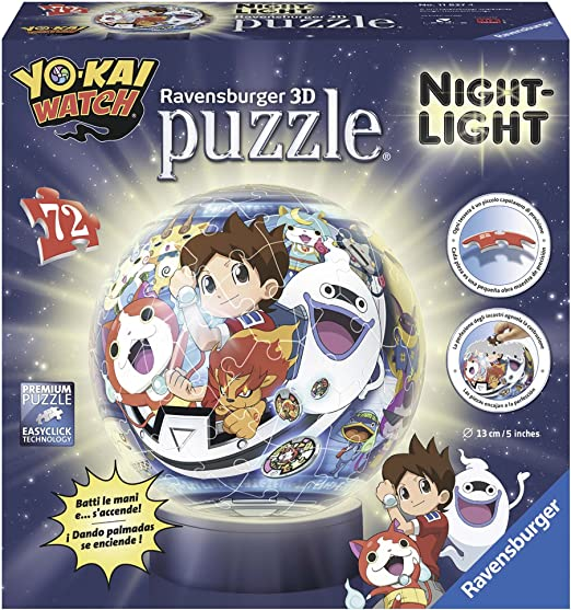 Ravensburger Lámpara con LED 3D con Diseño Yo-Kai Watch: Amazon.es: Iluminación