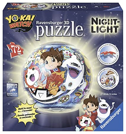 Ravensburger Lámpara con LED 3D con Diseño Yo-Kai Watch