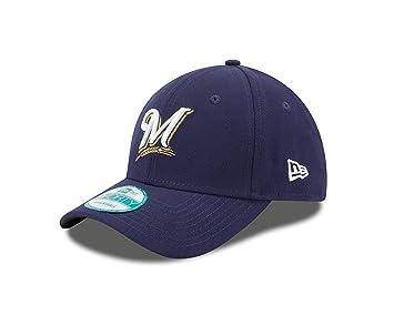 New Era MLB pour enfant The League 9 Forty Casquette réglable, Enfant,  Milwaukee Brewers fa14e704c065