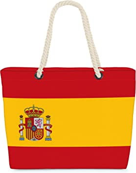VOID Bolso de Playa XXL Bolsa Shopper España Españoles 58 x 38 x 16 cm 23 l Beach Bag Spain Spaniards: Amazon.es: Equipaje