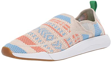 75c0378da340 Sanuk Women s Chiba Quest Knit Sneaker skyland Natural 05 ...
