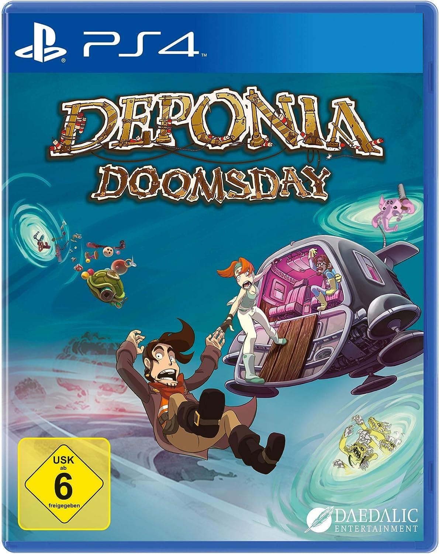 #Videojuego Deponia Doomsday por sólo 9,99€