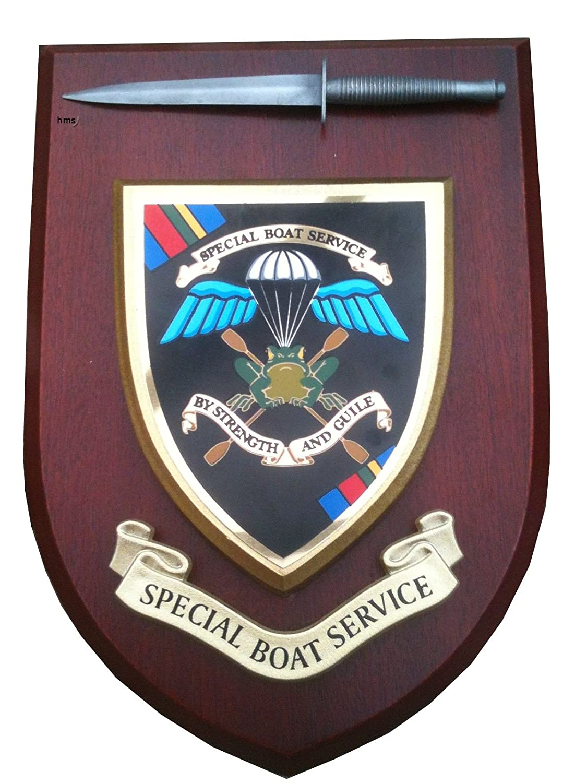 Special Boat Service Lapel Regimental Military SBS Badge