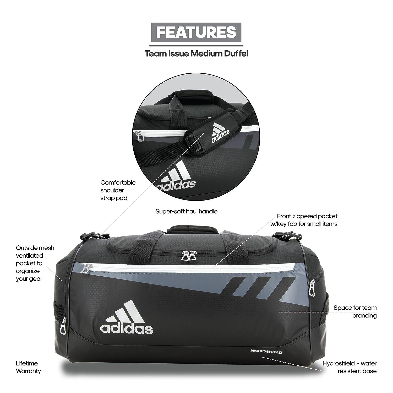 adidas Team Issue Duffel Bag  Amazon.com.au  Fashion 4effe150a9f35