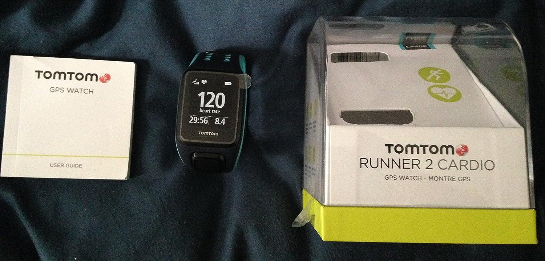 TomTom Runner 2 Cardio correa Large Azul Marino reloj GPS con Cardio ...