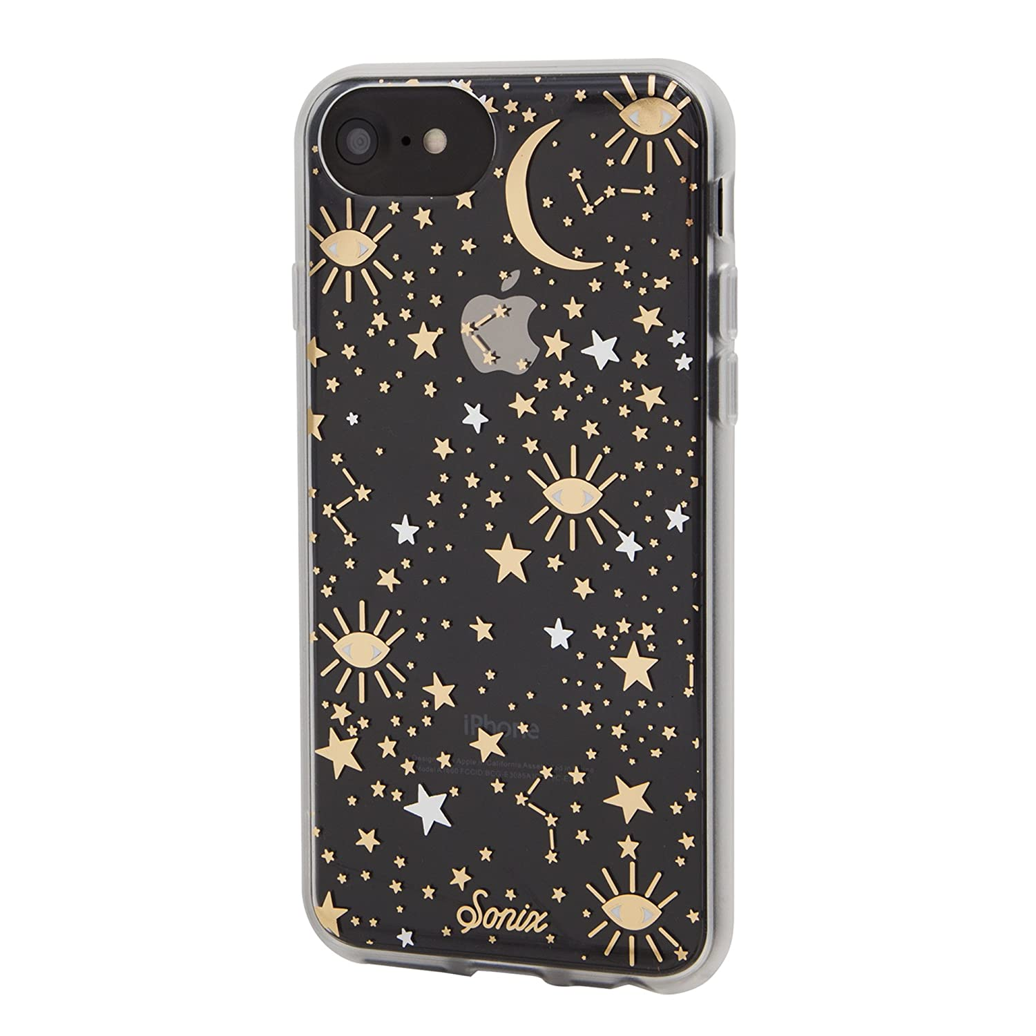 on sale 36718 a6bf5 Sonix Cosmic (Stars, Gold/Silver) Cell Phone Case [Military Drop Test  Certified] Sonix Clear Case for Apple iPhone 6/iPhone 6s/iPhone 7/iPhone 8