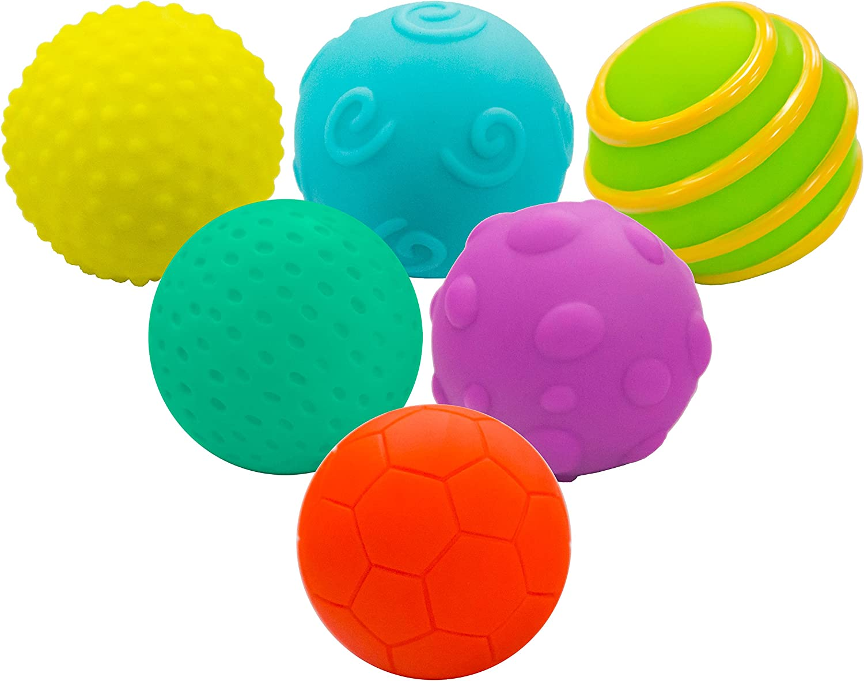Little Hero- Set balones Blandos Texturas (Totideas 20502007 ...