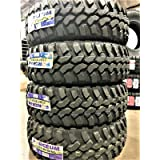 Set of 4 (FOUR) Forceum M/T 08 Mud-Terrain Radial Tires-LT235/75R15 104/101Q LRC 6-Ply