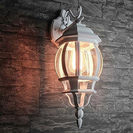 LED 6 Watt Außenbeleuchtung Schutzart Garten Wandleuchte Lampe Hof Einfahrt