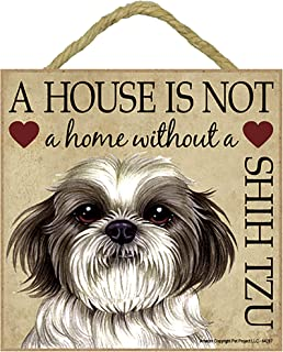 Hang it or Stand it on the easel.. Plaque House is not a Home West Highland Terrier Gift