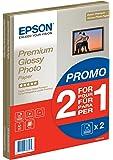 Epson Super Carta Fotografica Lucida, 2 x 15 fogli, 21 x 29.7 cm