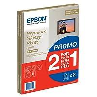 Epson C13S042169 - Pack de 2 - Papier Photo Premium Glacé - A4-2x15 Feuilles