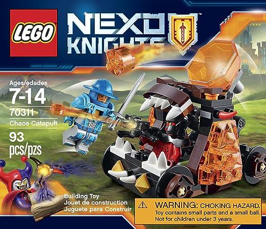 Amazon.com: LEGO NexoKnights Chaos Catapult 70311: Toys & Games
