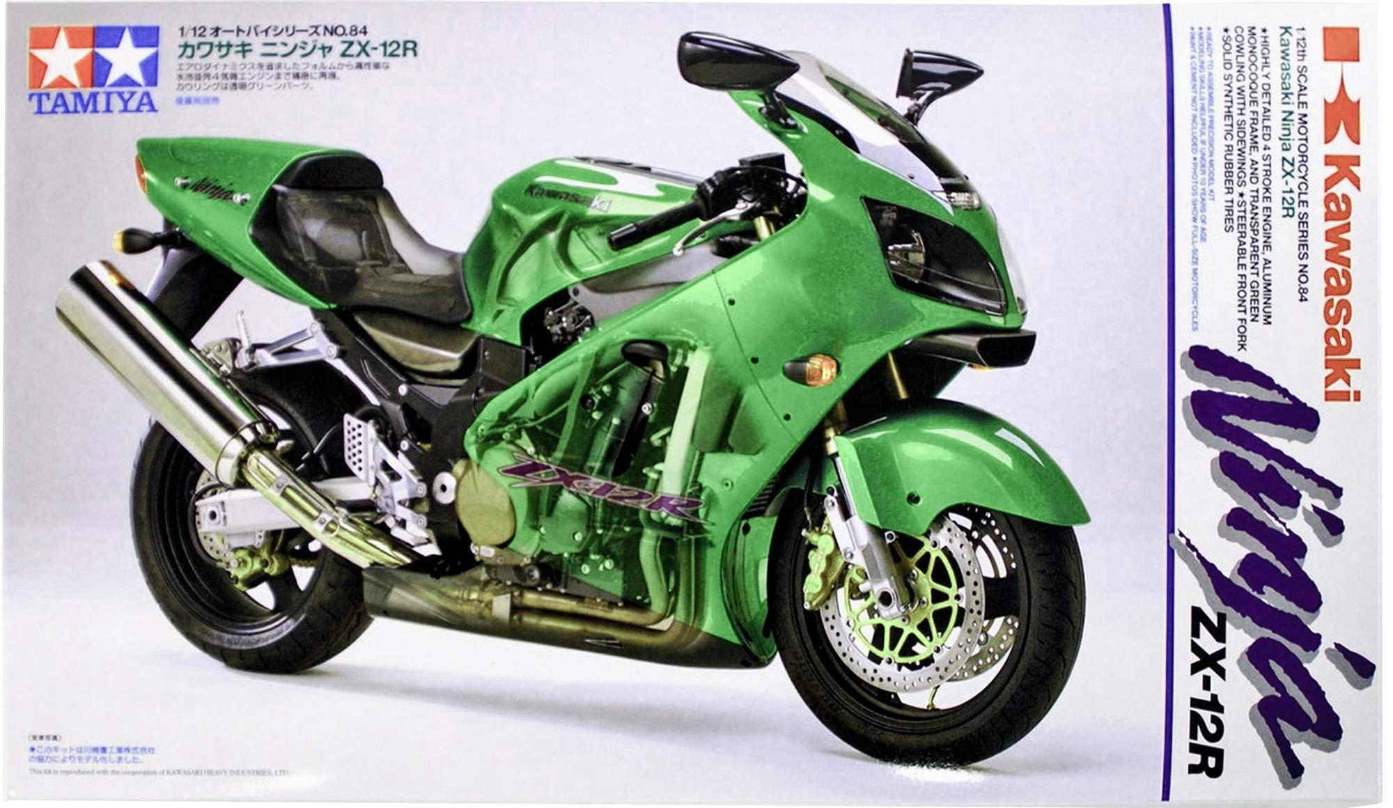 1:12 Scale 300014090 Tamiya Suzuki GSX1300R Hayabusa Street 98 Model Motorcycle