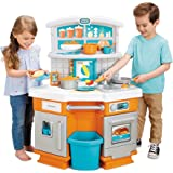Little Tikes Home Grown Kitchen - Role Play Kitchen with Fresh Updated Look, Multicolor